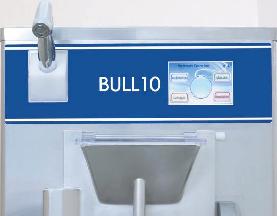 Display Mantecatori Orizzontali Bull 10